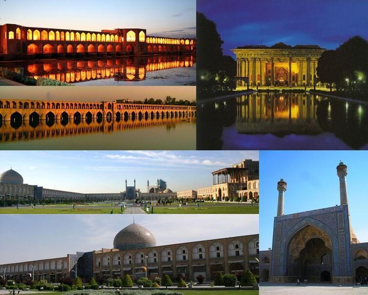 Достопримечательности современного Исфахана