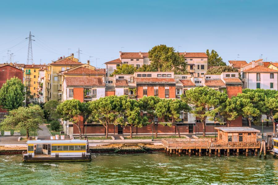 Остров Сакка Физола в Венеции