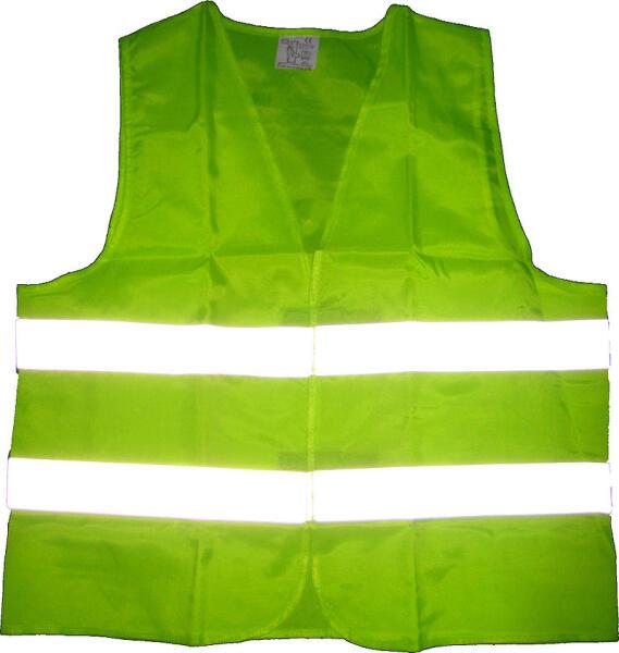Предупреждающий жилет со световозвращающими полосами