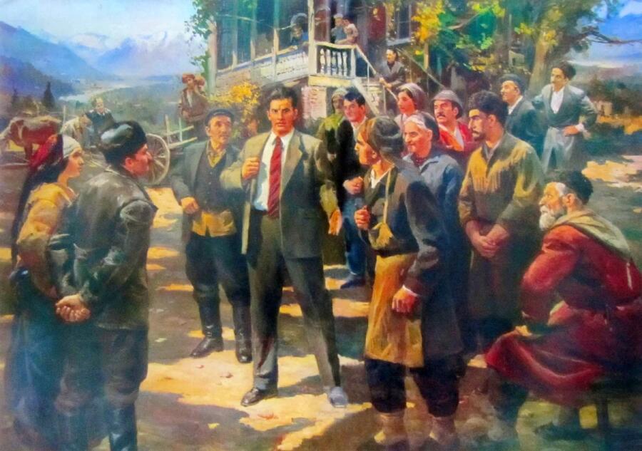 Д. А. Налбандян, «Маяковский в Грузии»