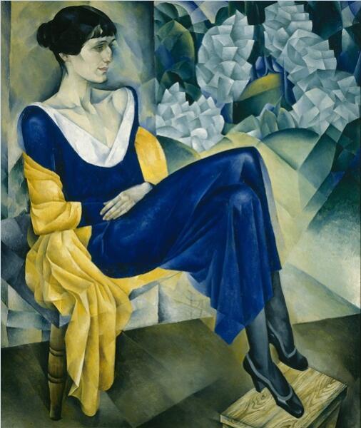 Натан Альтман, «Анна Ахматова», 1914 г.