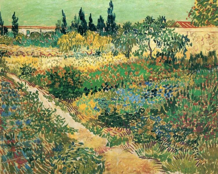 Винсент Ван Гог, «Цветущий сад с дорожкой», 1888 г. г.