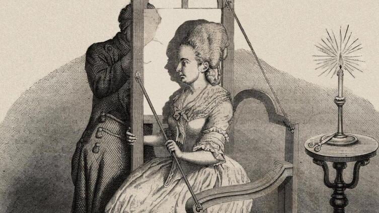 Рисование теневого портрета