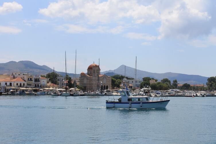 Остров Эгина. Современность