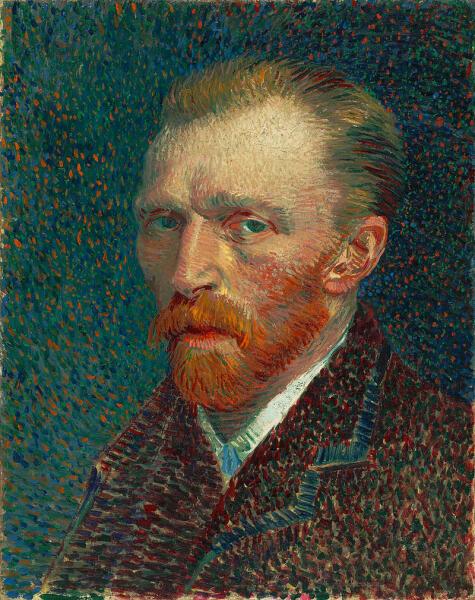 Винсент Ван Гог, «Автопортрет», 1887 г.