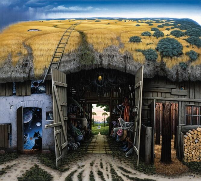 Яцек Йерка, «Двери», 1999 г.