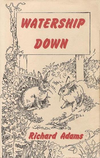 Обложка книги «Обитатели холмов» на английском языке