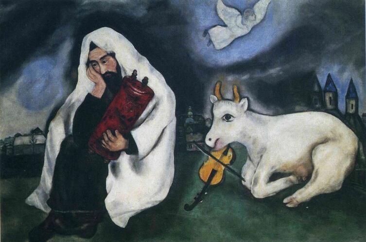 М. З. Шагал, «Одиночество», 1933 г.
