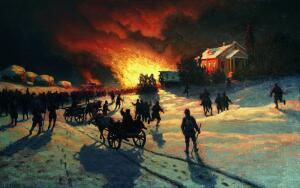 Как в старину боролись с пожарами?