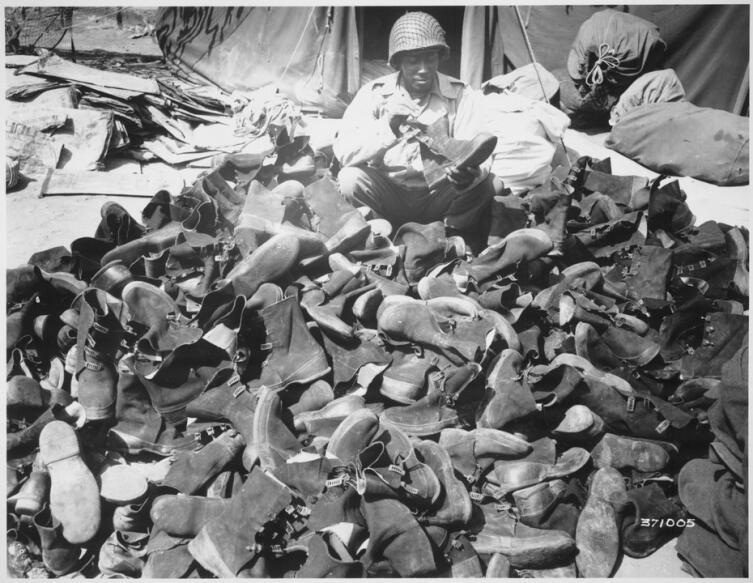 Галоши армии США для ношения с ботинками. Вторая Мировая война