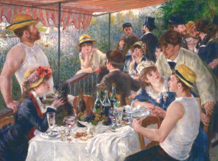 Пьер Огюст Ренуар, «Завтрак гребцов», 1881 г.