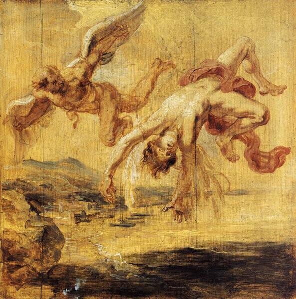 Питер Пауль Рубенс, «Дедал и Икар», 1636 г.