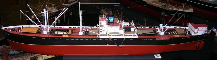 Модель судна типа «Либерти».