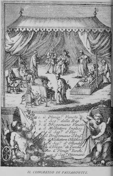 Пассаровицкий конгресс. 1718 г.