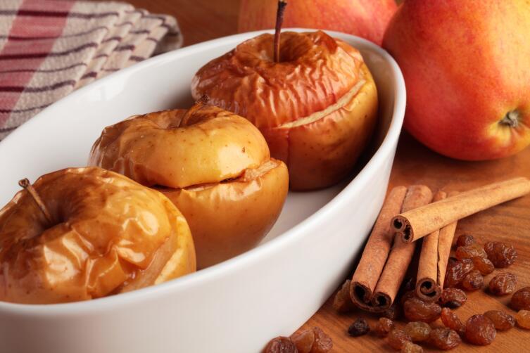 Что есть можно, когда ничего нельзя? Печеные яблоки