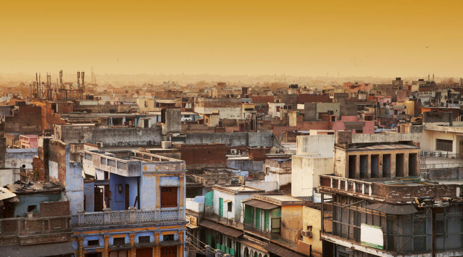 Вид на Нью-Дели