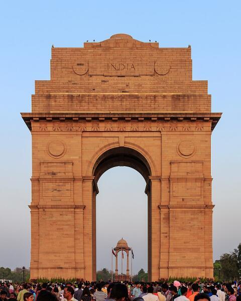 «Ворота Индии» установлены в память о солдатах, погибших во время Первой мировой войны