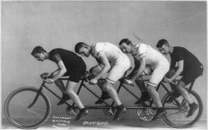 Какими были первые велосипеды?