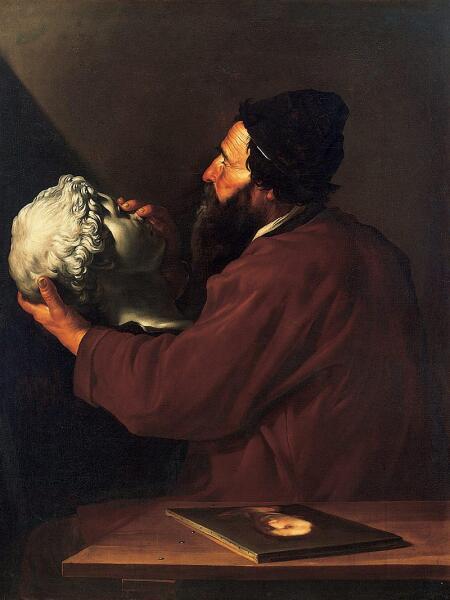 Хосе де Рибера, «Осязание»