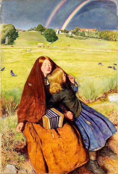 Джон Эверетт Милле, «Слепая», 1856г.