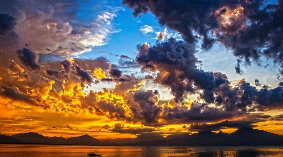 Секреты радуги, или Какого цвета бывают облака?