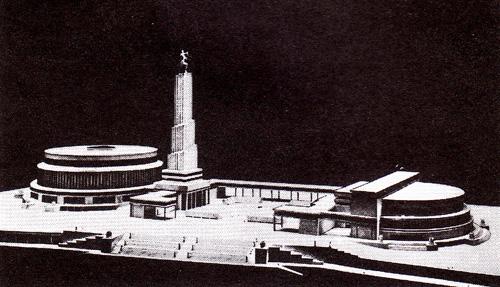 Проект Дворца Советов Бориса Иофана. Конкурсный проект (второй тур)