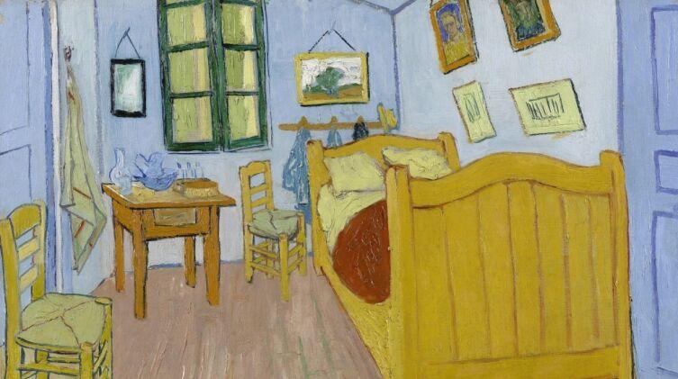 Винсент Ван Гог, «Спальня в Арле (первый вариант)», 1888 г.