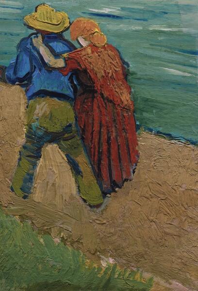 Винсент Ван Гог, «Двое влюбленных», 1888 г.