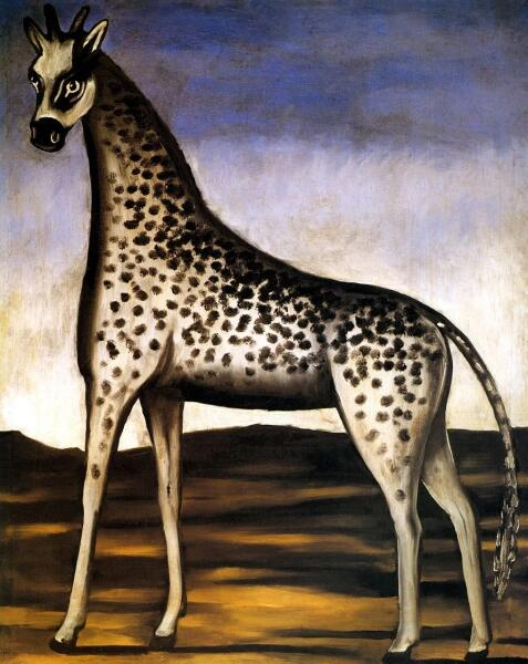 Нико Пиросмани (Пиросманашвили), «Жираф», 1905 г.