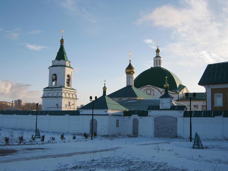 Свято-Троицкий мужской монастырь. Чебоксары