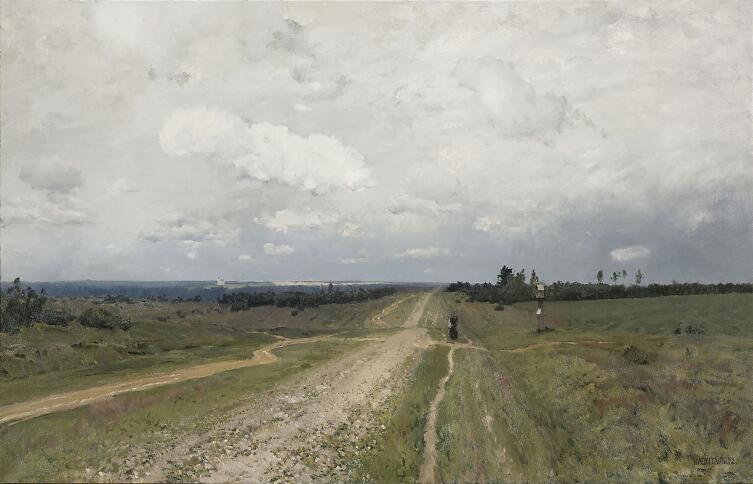 И. И. Левитан, «Владимирка», 1892 г.
