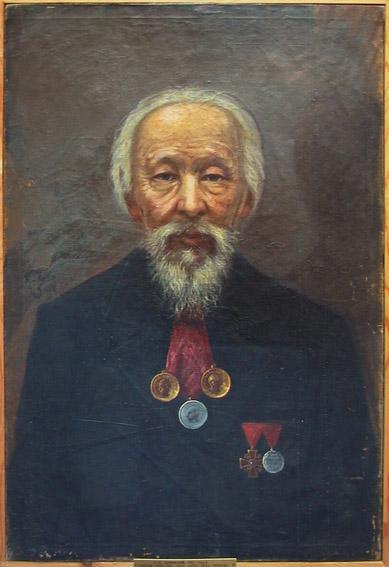 Г. Д. Данилов, «Портрет купца Ефремова», 1908 г.