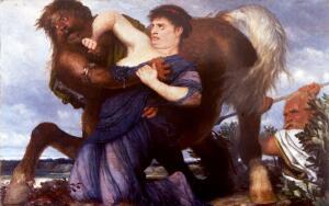 Геракл, Деянира и кентавр. Почему Геракл сжег себя на костре?