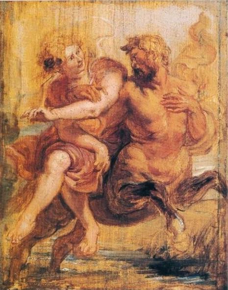 Питер Пауль Рубенс, «Деянира и кентавр», 1636 г.
