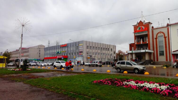 Центральная улица Волжска