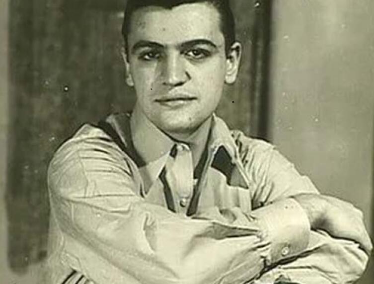 Марио Пьюзо в молодости