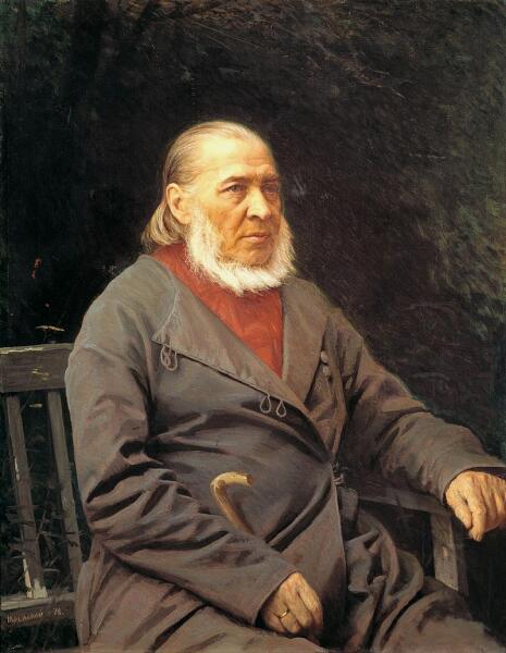И. Н. Крамской, «Сергей Тимофеевич Аксаков»