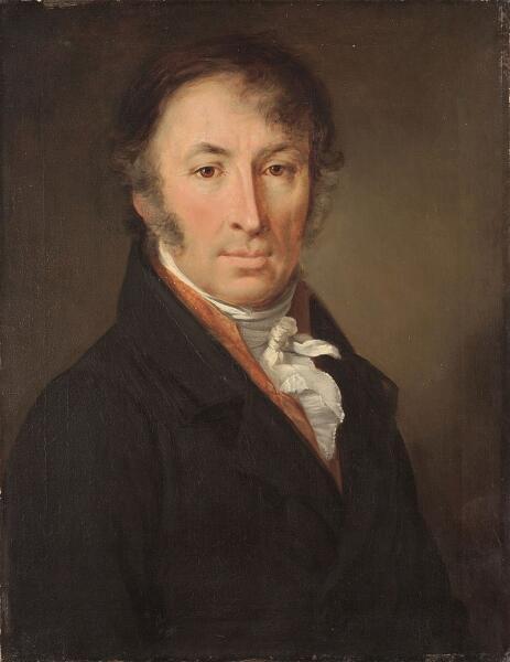 В. А. Тропинин, «Портрет Николая Карамзина», 1818 г.