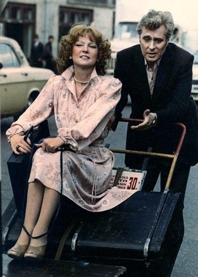 Кадр из к/ф «Вокзал для двоих», 1982 г.