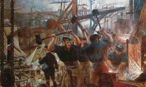 Как развивалась промышленность в России в старину?