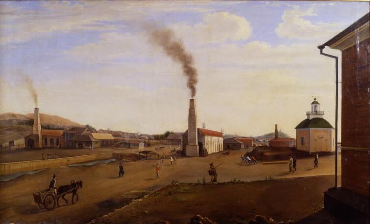 П. Ф. Худояров, «Меднорудянский рудник», 1849 г.