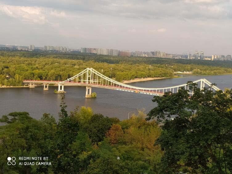 Киев, Днепр