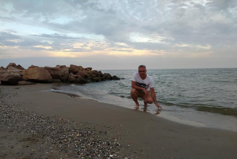 Затока, дикий пляж, море