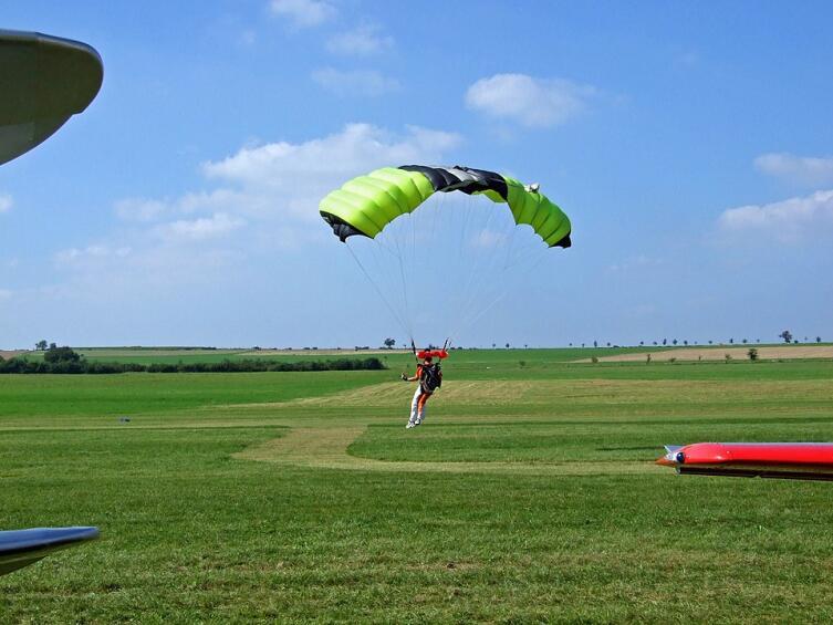 Спортивный парашют-крыло