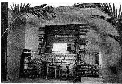 Консоль кинетофона, 1897 г.