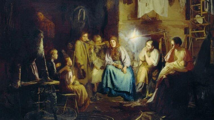 В. М. Максимов, «Бабушкины сказки», 1867 г.