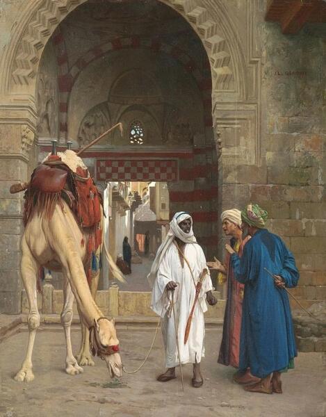 Жан-Леон Жером, «Спор арабов», 1871 г.