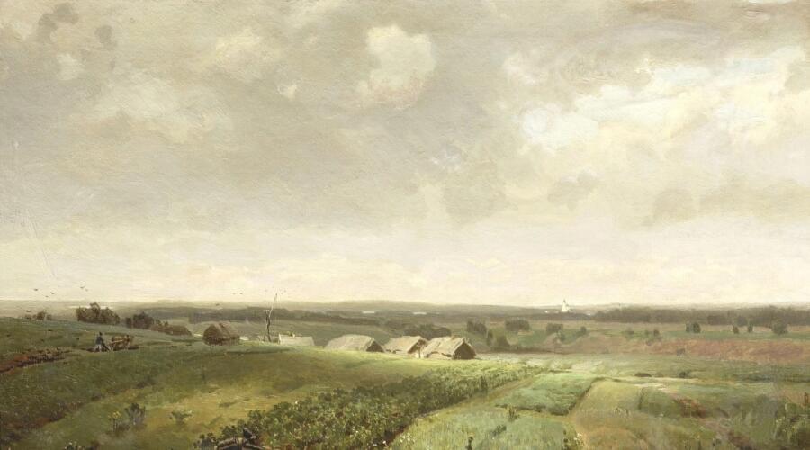 А. М. Васнецов, «Родина», 1886 г.