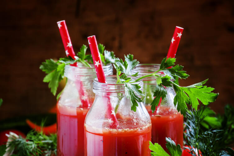 Как сделать томатный сок?