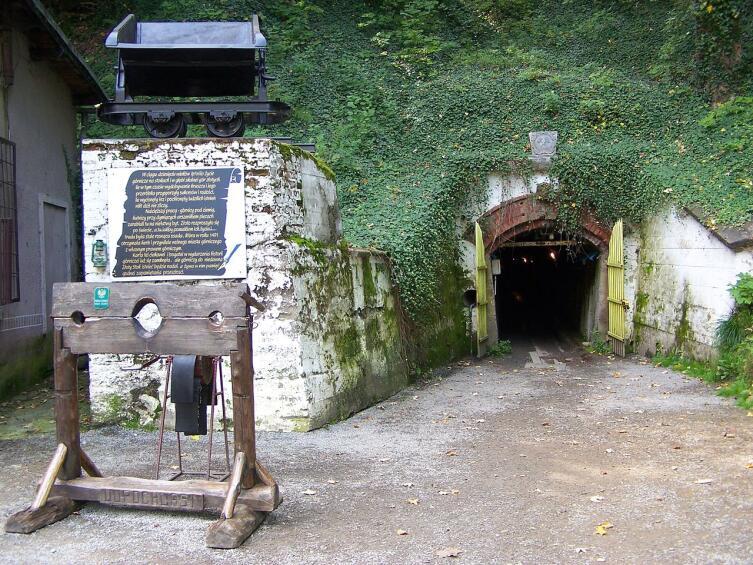 Золотодобывающая шахта в Злоты-Сток